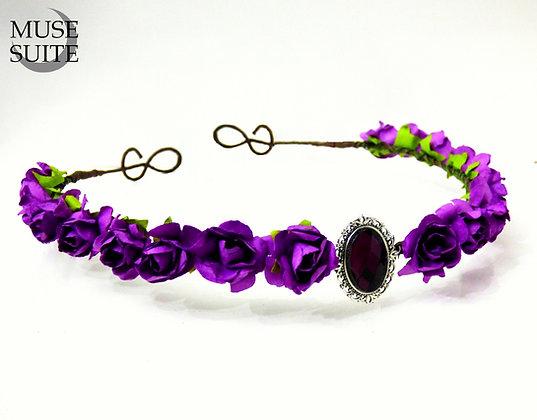 Medieval Diadem /Dif.Colours/ flower circlet, folk fair tiara
