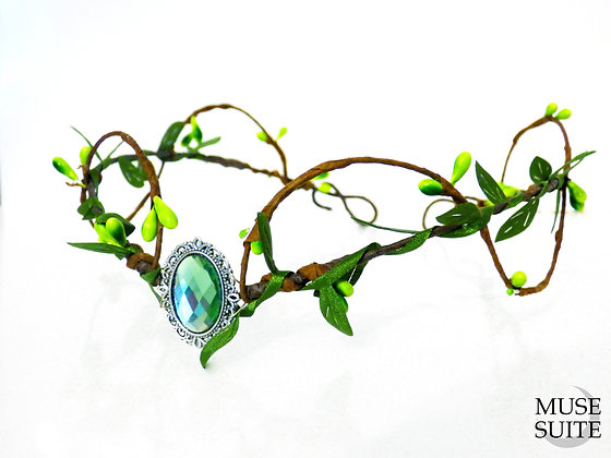 Elf crown/Dif.Colours/ elven tiara - cosplay accessories -branch circlet leaves