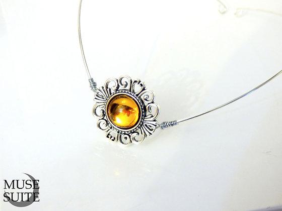 Fairy Circlet with swarovski elements - fancy diadem - elf crown