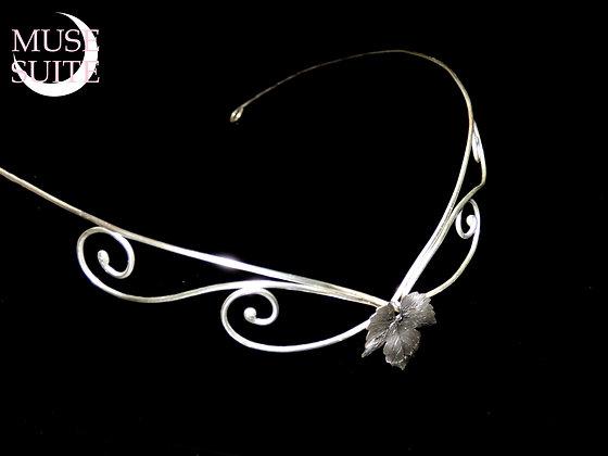Elven tiara - Elf crown Unisex - Sterling Silver