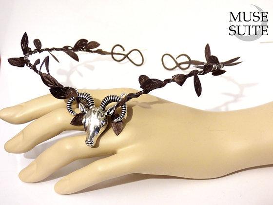 Wiccan tiara - viking circlet - pagan crown