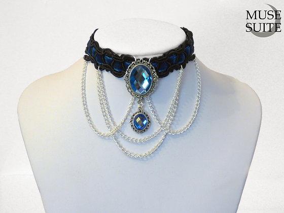 Bluemarine baroque choker - victorian necklace - Disney inspired frozen collar
