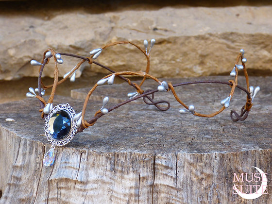 Fancy tiara/Dif.Colours/ - Elven circlet style- Nymph Collection.