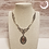 Thumbnail: Baroque Necklace, victorian collar with a cameo and swarovski elements.