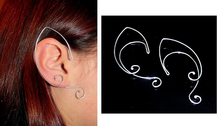 Elf Ear Cuff - fairy ears - elf earrings - elven ear cuffs