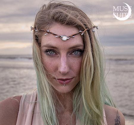 Boho Circlet - Bohemian Tiara - Mermaid Inspired Headband.