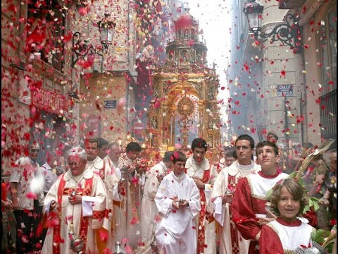 The Guardian Angel: Eucharistic Miracle, LIÈGE, BELGIUM, 1374, Establishment of Corpus Christi