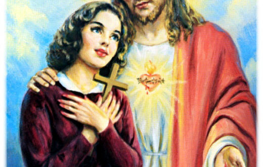The Catholic Defender: The Promises of the Sacred Heart of Jesus to St. Margaret Mary Promise 7
