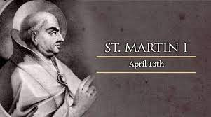The Catholic Defender: St. Martin I, Last of the Early Popes venerated as a Martyr