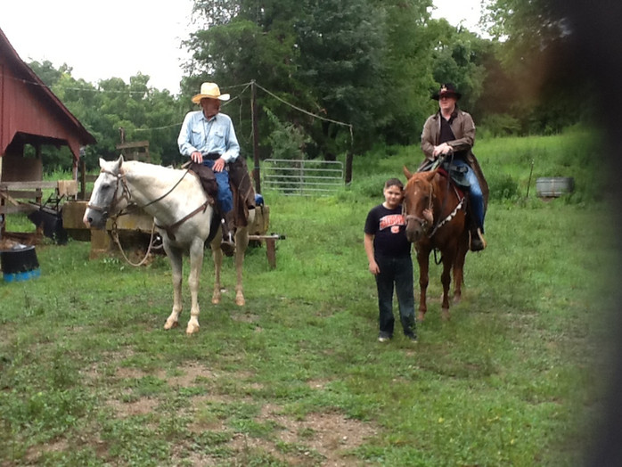 The Catholic Defender Rides Again At The 3 H Stables In Huntsville Alabama