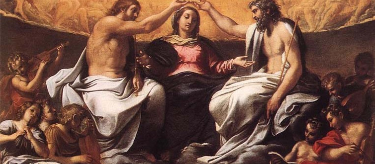 The Catholic Defender: August 22 Celebrates Mary Queen of Heaven
