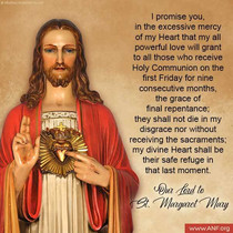 The Catholic Defender: The Promises of the Sacred Heart of Jesus to St. Margaret Mary Promise 12