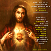 The Catholic Defender: The Promises of the Sacred Heart of Jesus to St. Margaret Mary Promise 9