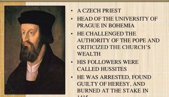 The Catholic Defender: Father John Huss, Saint or Heretic?