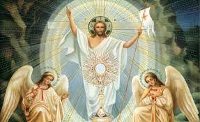 The Guardian Angel:Eucharistic Presence St. Margaret Mary Alacoque & Sacred Heart of Jesus