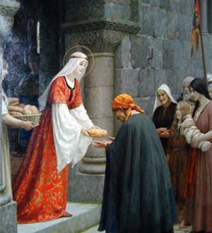 The Catholic Defender: St. Elizabeth of Hungary