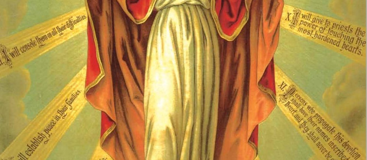 The Catholic Defender: The Promises of the Sacred Heart of Jesus to St. Margaret Mary Promise 8