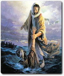 The Catholic Defender: Jesus walked on the water and invites you to come to Him