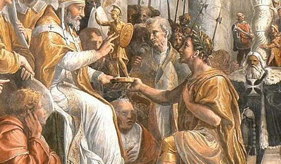 The Catholic Defender: The St. Pope Sylvester Story, A True Royal Steward