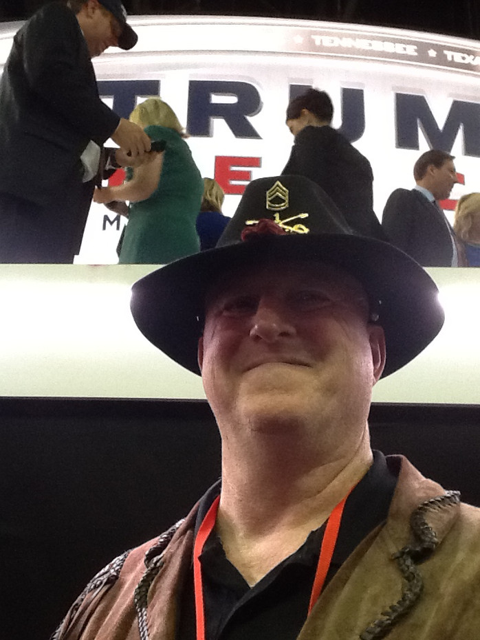 The Catholic Defender At the 2016 Republican Convention At Cleveland Ohio