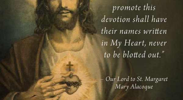 The Catholic Defender: The Promises of the Sacred Heart of Jesus to St. Margaret Mary Promise 11