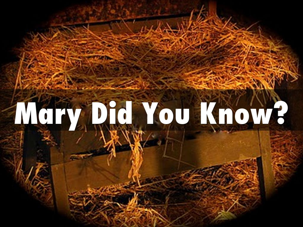 the catholic defender mary did you know deeper truth blog - Mary Did You Know Christmas Song