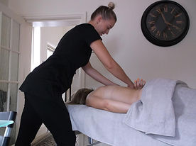 A relaxing massage in the comfort of your own home