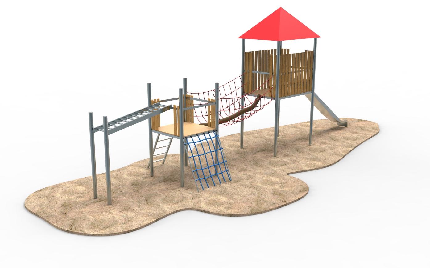 Spielplatzgeräte für Klettermax GmbH