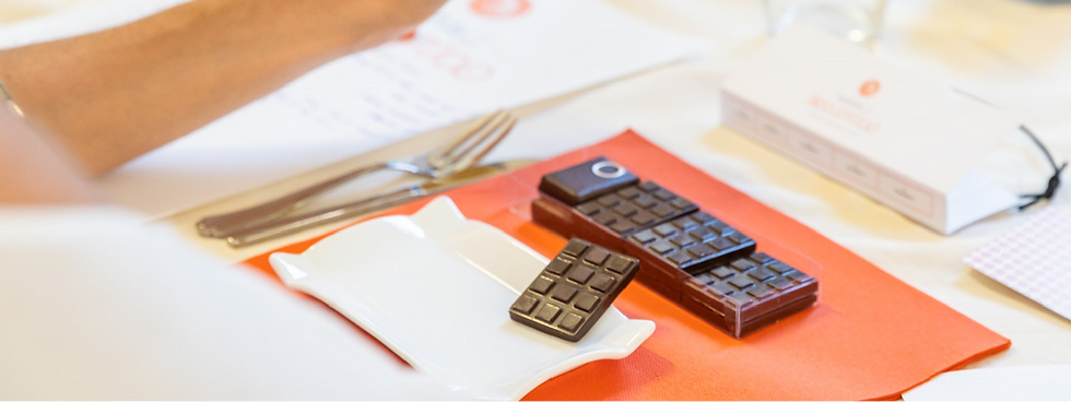 Fond de section - Animation chocolat