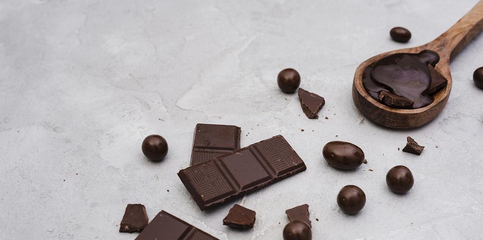 Fond de section - Chocolat noir dégustation
