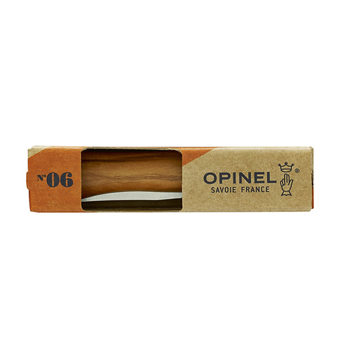 Opinel #6 Olivewood
