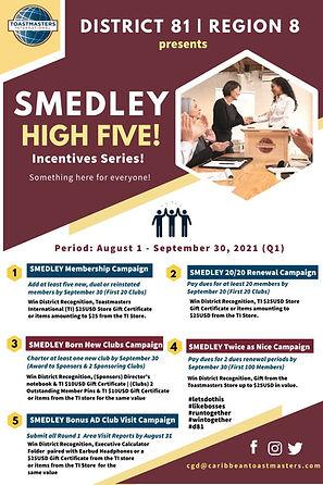 Smedley High Five