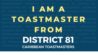 Happy International Toastmasters Day