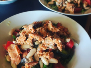 Salmon and White Bean Salad