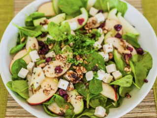 Sweet and Salty Apple Salad