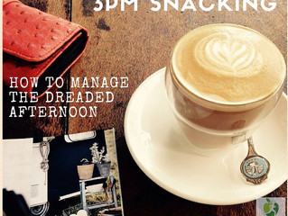 My tips to control afternoon snacking