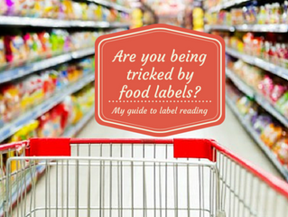 Are you being tricked by food labels?