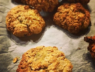 My Healthy Take on ANZAC Biscuits