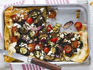 Ricotta and Sage Filo Pizza