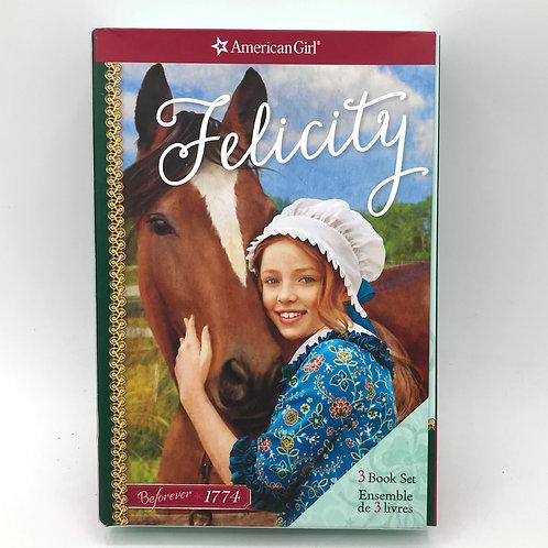 American Girl: Felicity 3-Book Box Set