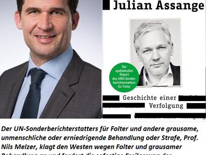 Prof. Melzer: Ich glaubte die Geschichte vom Vergewaltiger Julian Assange, dann informierte ich mich