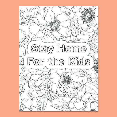 Stay Home for the Kids: Poppies