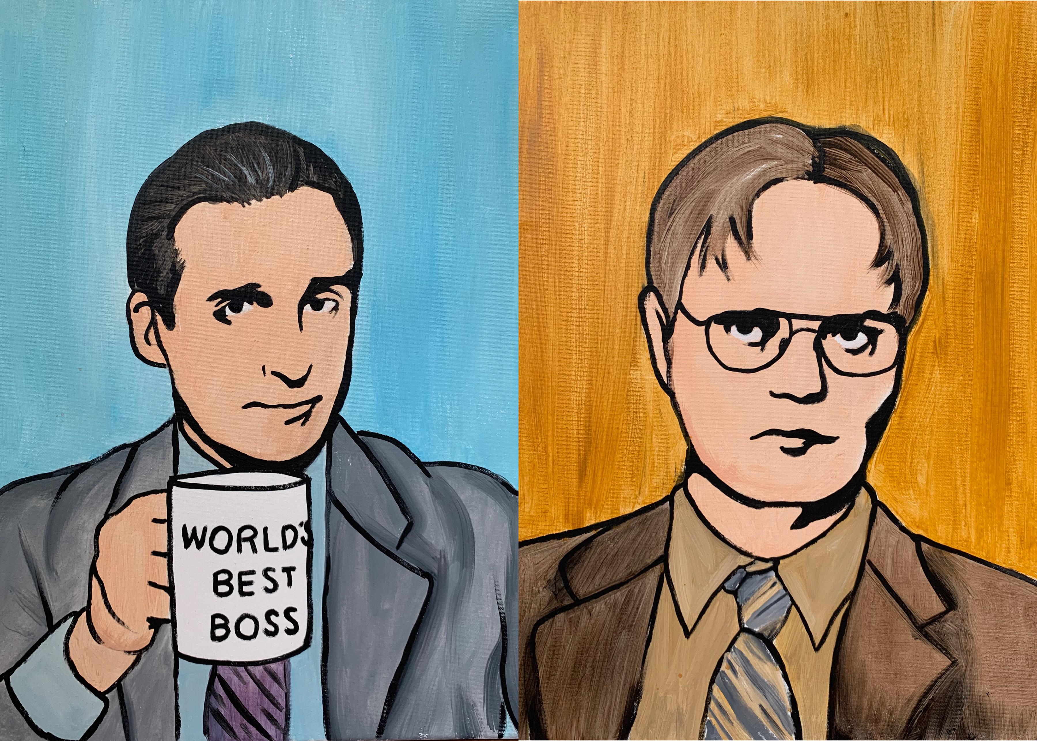 'The Office' Paint Kit