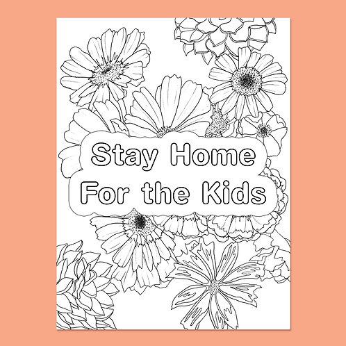 Stay Home for the Kids: Daisies