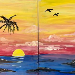 Ocean Memories Side by Side