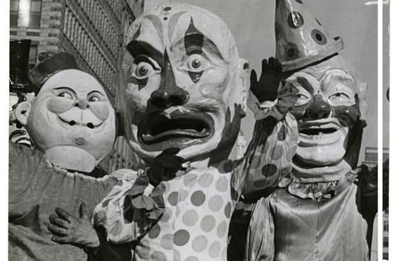 Gimbels' Thanksgiving Day Parade Photographs 1929-1941