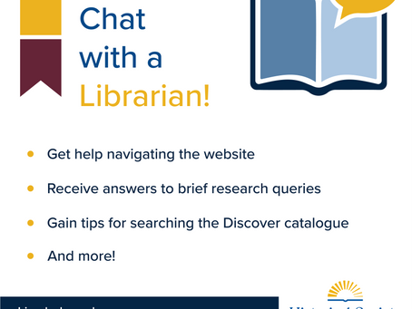 Now Live: Chat with a Librarian!
