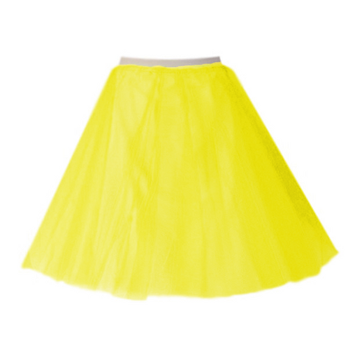 IC310 Yellow Two Layer Underskirt