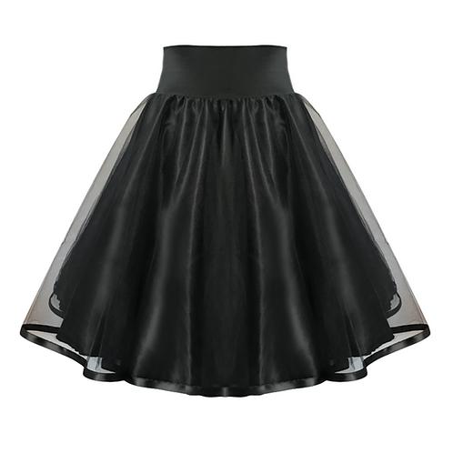 IC340 Ballroom Tulle Overlay Skirt