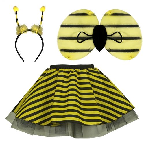 IC106  Bumble Bee Skirt Costume